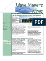July 2009 Wave Maker's Newsletter