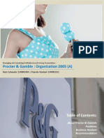 Procter and Gamble Organization 2005(a)