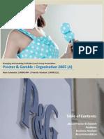Procter and Gamble Organization 2005(a)