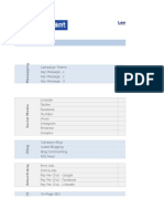 Content Marketing Planning Model