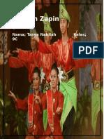 Tarian Zapin Arab