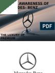 Mercedes Benz the Luxury of Premium Brand