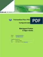 Watchguard Firebox X Edge e-Series & GreenBow IPSec VPN Client Software Configuration (Deutsch)