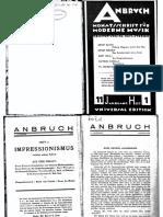 Anbruch (1929)