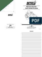 Manual Trator MTD Serie 700