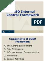 8 COSO Framework