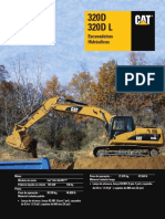 Manual de especificação CAT320DL (1)