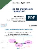 5- AV ADAMTS13 - 2014