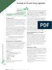 IGCSE (Complete Biology) Chapter 1