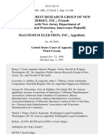 Public Interest Research Group of New Jersey, Inc. Friends of the Earth New Jersey Department of Environmental Protection, Intervenor-Plaintiff v. Magnesium Elektron, Inc., 123 F.3d 111, 3rd Cir. (1997)