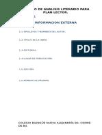 Ejemplo de Modelo Reporte