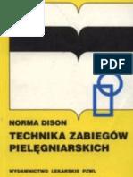 Dison Norma - Technika zabiegów pielęgniarskich (1998)