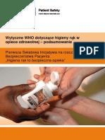 Wytyczne WHO dotyczące higieny rąk w opiece zdrowotnej - podsumowanie (2009).pdf