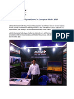 AABSyS IT participates in Enterprise Odisha