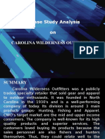 Case Study Analysis on CWO GROUP 8