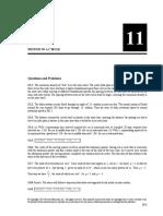 Chapter 11 Solution Mazur