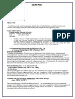 MKP Resume