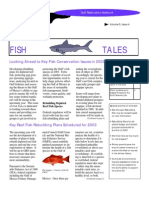 December 2002 Fish Tales Newsletter