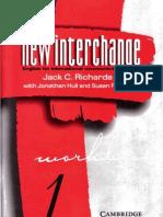 New Interchange 1 Workbook 1997 - Jack Richards (Cambridge University Press)