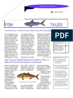 March 2002 Fish Tales Newsletter