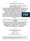 Crown Cork & Seal Company, Inc. v. Central States Southeast and Southwest Areas Pension Fund, a Federal Multiemployer Employee Pension Benefit Plan Loran W. Robbins Marion M. Winstead Robert C. Sansone Robert J. Baker Howard McDougall Arthur H. Bunte R. Jerry Cook and R v. Pulliam, Its Present Trustees in Their Fiduciary Capacity(ies) (d.c. Civil No. 84-05737). Central States, Southeast and Southwest Areas Pension Fund, a Pension Trust Marion M. Winstead Robert C. Sansone Robert J. Baker Howard McDougall Arthur H. Bunte, Jr. R. Jerry Cook R v. Pulliam, Sr. Harold D. Leu, Its Present Trustees v. Crown Cork & Seal Company, Inc. (d.c. Civil No. 91-04423), Central States, Southeast and Southwest Areas Pension Fund, a Pension Trust, and Its Trustees, Including Marion M. Winstead, Robert C. Sansone, Robert J. Baker, Howard McDougall Arthur H. Bunte, Jr., R. Jerry Cook, R v. Pulliam, Sr. And Harold D. Leu, 982 F.2d 857, 3rd Cir. (1993)