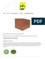 Green Marine Plywood - Greenply