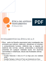 Etica Do Antigo Testamento