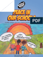 Peace in Our Schools Cleveland Comic Book