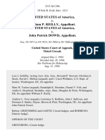 United States v. William P. Reilly, United States of America v. John Patrick Dowd, 33 F.3d 1396, 3rd Cir. (1994)