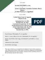 Derrick Fontroy v. David S. Owens Irene J. Pernsley Gaetano Curione Harry Moore. Derrick Dale Fontroy, I, 23 F.3d 63, 3rd Cir. (1994)