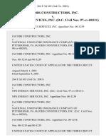 Jacobs Constructors, Inc. v. Nps Energy Services, Inc. (d.c. Civil Nos. 97-Cv-00131), 264 F.3d 365, 3rd Cir. (2001)