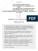 Matter of the United Corporation. Appeal of Herbert M. Diamond, in No. 11627. Appeal of General Protective Committee for the Holders of Option Warrants of the United Corporation and Alfred A. Biddle, in No. 11645, 232 F.2d 601, 3rd Cir. (1956)