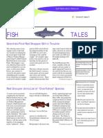 October 1999 Fish Tales Newsletter