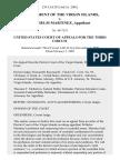 Government of the Virgin Islands v. Wilhelm Martinez, 239 F.3d 293, 3rd Cir. (2001)