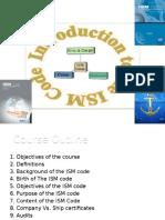 ISM Code 3000GRT Training