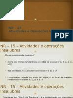 11- NR-15 - NR-16