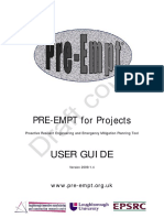 PRE-EMPT for Projects
