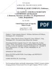 Pennsylvania Power & Light Company v. Occupational Safety and Health Review Commission and Raymond J. Donovan, Secretary of Labor, U.S. Department of Labor, 737 F.2d 350, 3rd Cir. (1984)