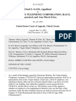Chad S. Gass v. Virgin Islands Telephone Corporation, Raco, Incorporated, and Ann Marie Estes, 311 F.3d 237, 3rd Cir. (2002)