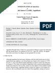 United States v. Ronald James Clark, 468 F.2d 708, 3rd Cir. (1972)