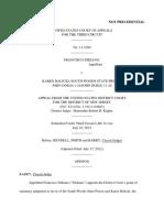 Francisco Didiano v. Karen Balicki, 3rd Cir. (2012)