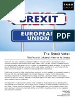 V14-048 the Brexit Survey