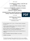 Jo Ann Labarge and Brandon Labarge, a Minor by and Through His Guardian Ad Litem, Jo Ann Labarge v. County of Mariposa, and Roderic B. Sinclair, and Third-Party v. United States of America, and Estate of George Patrick Labarge, Third-Party, 798 F.2d 364, 3rd Cir. (1986)