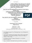 Dennis Sullivan, Michael Diskin, James Rosenweir, Hershel Heilig, Wayne Jackson, John Clark and John King, on Their Own Behalf and on Behalf of All Others Similarly Situated Arc House, Inc. (Plf Intervenor) v. The City of Pittsburgh, Pennsylvania Paul J. Imhoff, Supt. Of Pittsburgh Bureau of Building Inspections, Robert H. Lurcott, Director of the Pittsburgh Dept. Of City Planning v. The County of Allegheny, Pennsylvania and the Allegheny County Institution, 811 F.2d 171, 3rd Cir. (1987)
