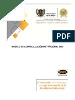 Modelo de Autoevaluacion Institucional 2015