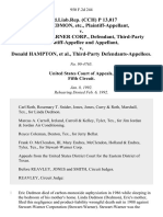 prod.liab.rep. (Cch) P 13,017 Linda Dedmon, Etc. v. Stewart-Warner Corp., Third-Party and v. Donald Hampton, Third-Party, 950 F.2d 244, 3rd Cir. (1992)