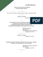 Larry Rader v. Ing Groep NV, 3rd Cir. (2012)