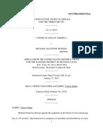 United States v. Michael Dotson, 3rd Cir. (2013)