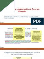 3 - Criterios Clasificacin Recursos Minerales - O- Rojas - Geoestima