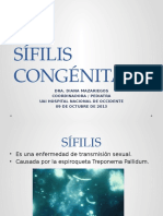 Exposicion a Sifilis